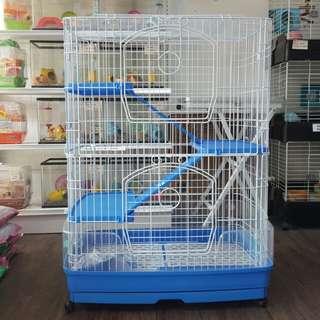 Chinchilla/Rabbit cage(83 x 57 x 108)cm