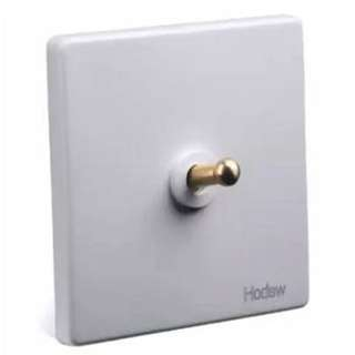Designer two way toggle light switches