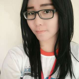 Wig hitam