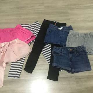 Girls bottoms. 4-5 yrs old