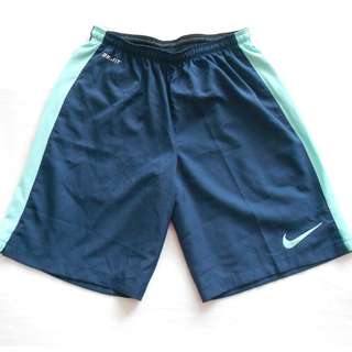Blue Dry-fit Nike Shorts