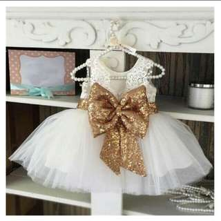 Gown for baby first bday