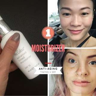 Anti-aging tinted moisturizer