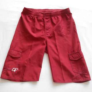 Red Ocean Pacific Shorts