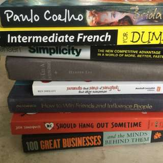 """Various books to bless - only """"simplicity"""" left"""
