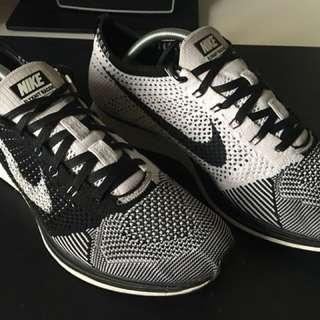 Nike Flyknit Racer Orca White Tongue 2013