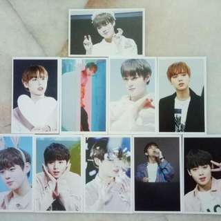 Wanna One Park Ji Hoon Lomo Card