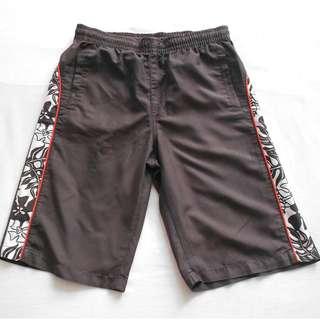 Brown Bulb Shorts