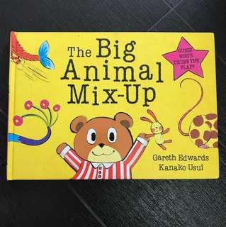 Board Book - The Big Animal Mix-Up