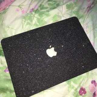 Macbook Air Glitter Case