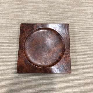 癭木/影木/花梨瘤茶托