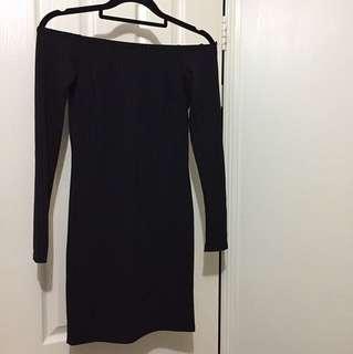 Bnwt off shoulder dress