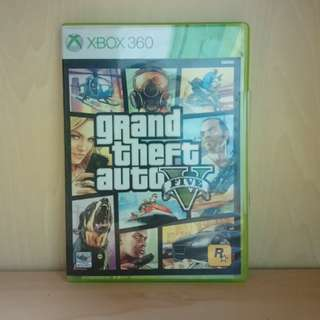 Grand Theft Auto GTA V 5 Xbox 360