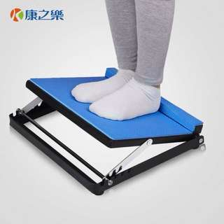 Padded Step board to stretch calf muscle