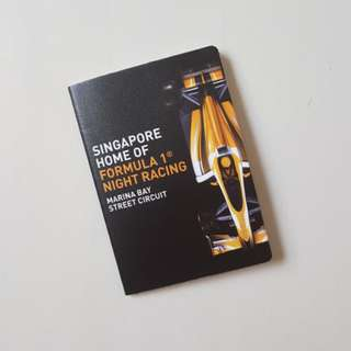 (Limited Edition) Formula One Singapore Grand Prix notebook