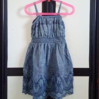Denim Dress (markdown price)