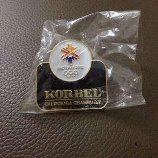 Olympiana: Salt Lake City 2002 Korbel Pin