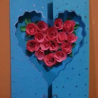 Cards quilled to taste. All occasions.