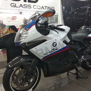 CNY - Glass Coating for Motorbikes
