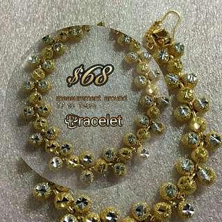 24k korean gold bracelet
