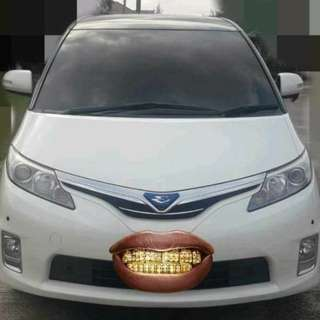 Toyota Estima Thai registration