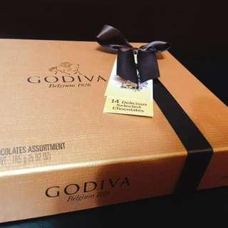 Godiva盒裝巧克力