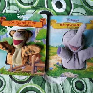 Disney puppet books