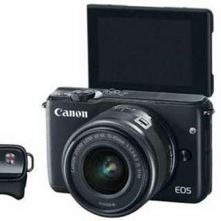 Kredit Dp 10% Canon EOS M10 Kit 15-45mm - Cicilan tanpa kartu kredit