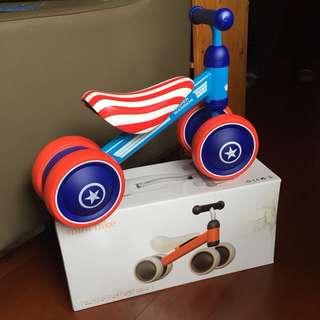 美國隊長學步車 滑步車 助步車 全新