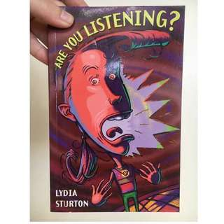 Are you listening? By Lydia Sturton