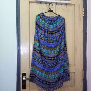 tribal siffon skirt