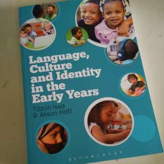 Language Culture and Indentity in the early years