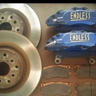 Endless 6 pot brake caliper kit