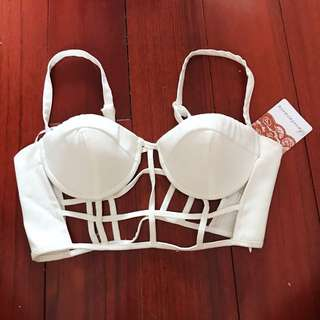 BNWT Cage Bralet