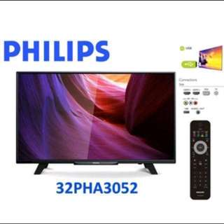Brand new Philips 32 inch LED TV (Free 3 years warranty)
