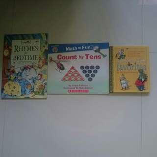 Set of preloved children books