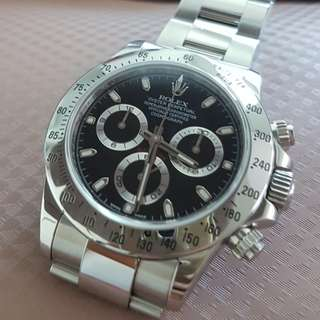 Rolex daytona steel genuine