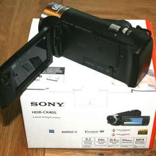 kredit tanpa DP Sony HDR-CX405 HD Handycam - tanpa CC