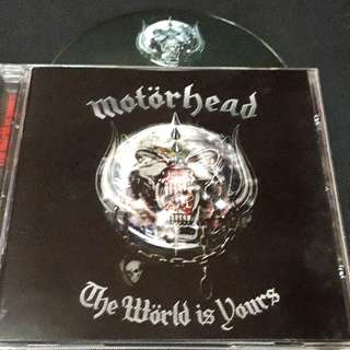 motorhead (the world is yours) cd rock