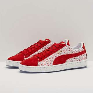 Puma Womens Suede Classic x Hello Kitty