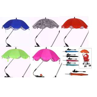 Umbrella + Clip-On for Stroller | Bicycle