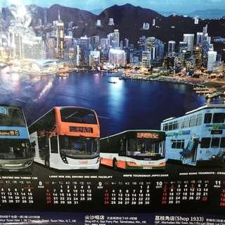HK Bus Poster