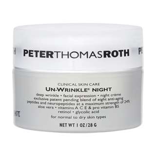 Peter Thomas Roth Un-Wrinkle Night Cream For Normal-Dry Skin 1oz£¬28g