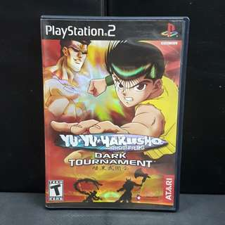PS2 Yu Yu Hakusho Ghost Files: Dark Tournament (Used Game)
