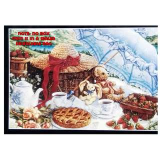 Jigsaw Puzzle - 500 pieces - Blue Parasol