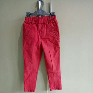 Red Trousers for 5-6year old