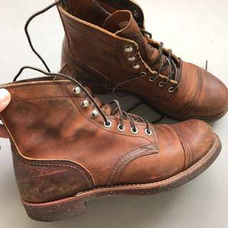 Red wing iron ranger US 7