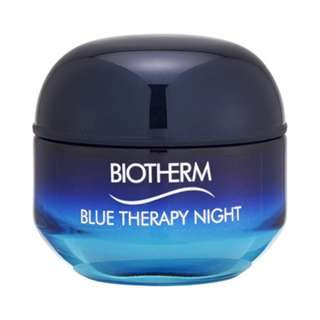 Biotherm Blue Therapy Night Cream Visible Signs of Aging Repair (For All Skin Types) 1.69oz, 50ml