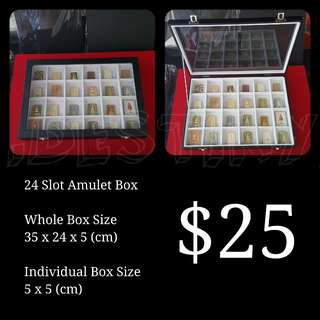 Amulet Box 24 Compartment