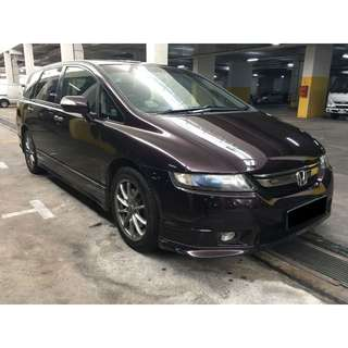HONDA ODYSSEY MONTHLY RENTAL PROMOTION $1800 PER MONTH (P PLATE WELCOME)